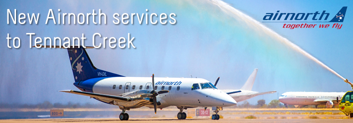New Airnorth services to Tennant Creek